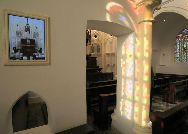 Béthanie chapel interior