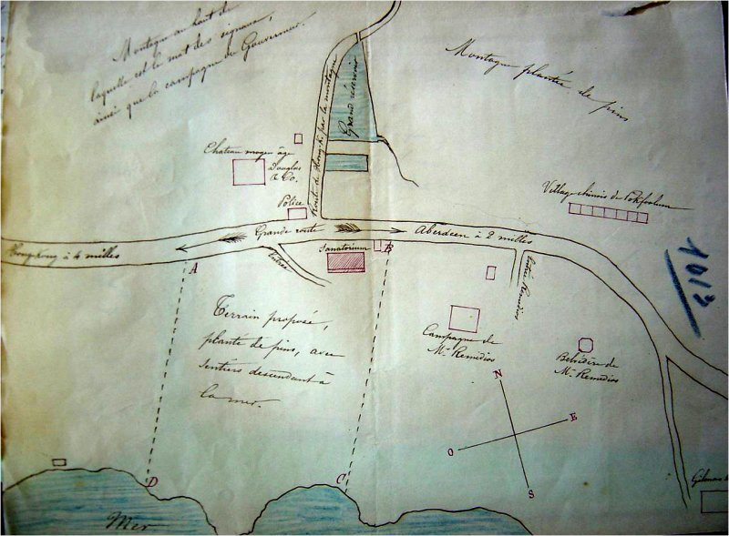 Béthanie location and plot - 1873