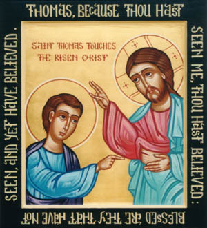 "an essay about doubting thomas Free essay: thomas the man behind the doubts adult bible study lesson  outlines  he is best known to us today as ""doubting thomas."