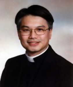 The Rev'd Canon Matthias Der the newly appointed Dean of St. John's Anglican / Episcopal Cathedral, Hong Kong