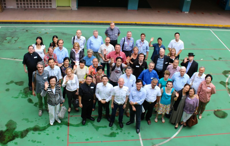 Leaders' Away Day gathering at Ming Hua Theological College, Hong Kong