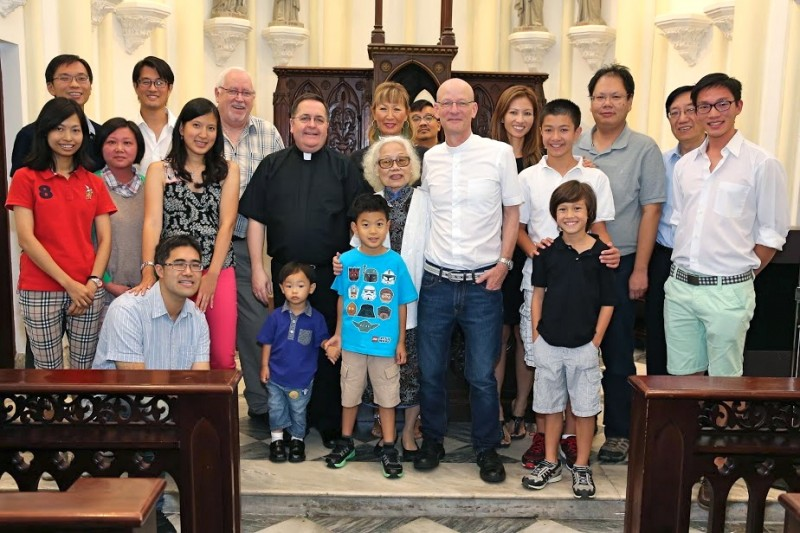 Two truly wonderful and memorable occasions took place on the 8th and 10th of September at Emmanuel and in the Hong Kong Club to celebrate Fr Nigel's 60th Birthday. Below are a few photo that capture the joyous spirit of both parties. HAPPY BIRTHDAY FATHER NIGEL from your many friends at Emmanuel and St John's Cathedral!