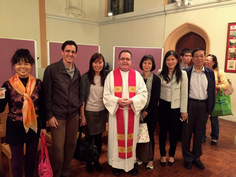 Alice Poon  (3rd from left) with Fr Robert and Emmanuel Parishioners after being Confirmed by Archbishop Paul Kwong in St John's Cathedral on Saturday 29th November.  Congratulations Alice!
