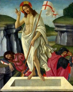 The Resurrection (c.1490)  by Sandro Botticelli